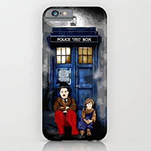 Society6 - Charlie Chaplin Waiting The Doctor Apple Iphone 4 ¡ iPhone 6 Case by Three Second