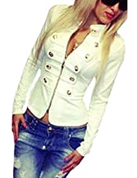 Womens Outwear Full Zip Print Open Cardigan Jacket with Pocket