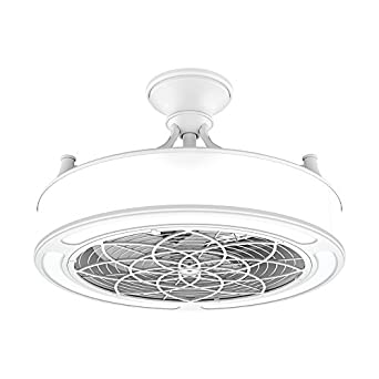 Anderson 22 In Indoor Outdoor White Ceiling Fan With