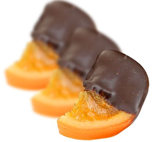 Orange Slices Dipped in Milk Chocolate, 1lb by Marich