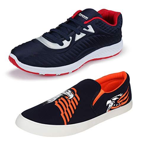 Bersache Men #39;s Multicolor Running Shoe