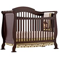 Stork Craft Valentia Convertible Crib (Espresso)