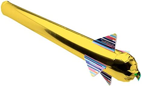 エアロケット バルーン ゴールド 3本セット