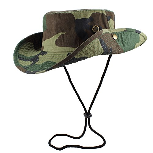 Gelante 100% Cotton Stone-Washed Safari Booney Sun Hats 1910-Woodland-S/M]()