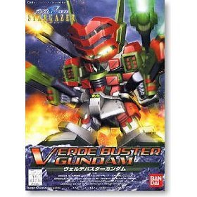 Bandai Hobby BB#294 Verde Buster Gundam, Bandai SD Action Figure