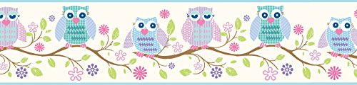 Brewster Chesapeake GIR94012B Winifred Owlets And Blooms ...