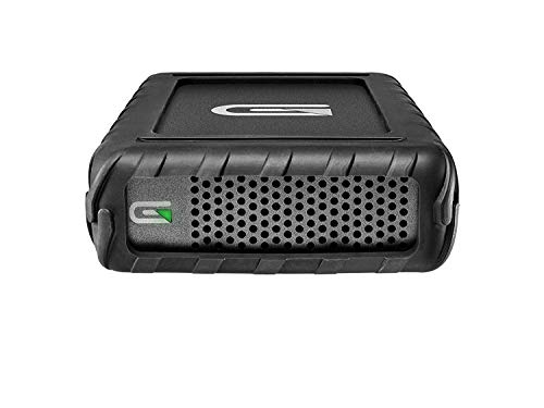 Glyph BlackBox Pro 3TB Rugged Desktop External Hard Drive with USB-C Connection - Compatible with Mac OS X, Windows, USB 3.0/2.0, Thunderbolt 3, Time Machine