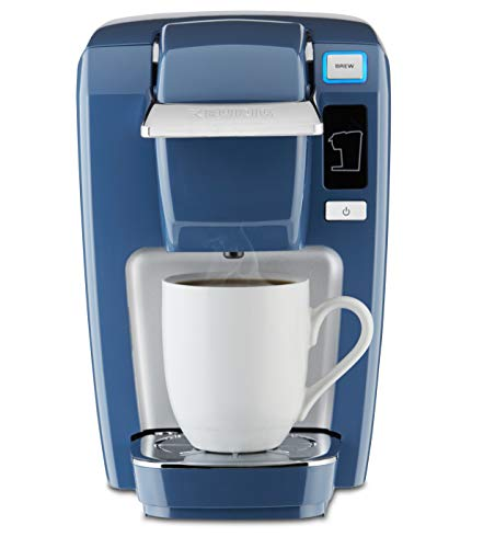 Keurig K15 Coffee Maker, Single Serve K-Cup Pod Coffee Brewer, 6 to 10 oz. Brew Sizes, Denim