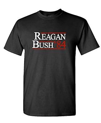 THE GOOZLER - REAGAN BUSH 84 - Mens Cotton T-Shirt