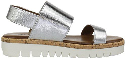 5 8 Platform Aldo US Sandal Silver Women Toni B Unq7XY