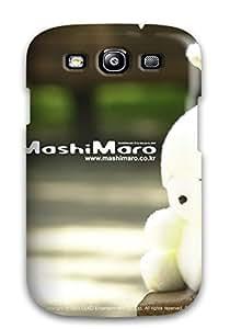 New Premium Flip Case Cover Mashimaro Skin Case For Galaxy S3 wangjiang maoyi