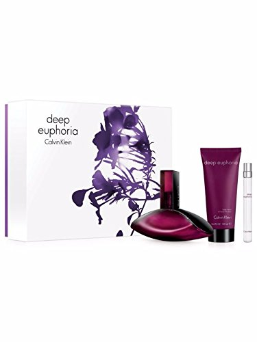 Deep EUPHORIA Gift Set for WOMEN - 3.4oz EDP/0.33oz Pencil EDP Spray /3.4oz Body Lotion - OR EMAIL FOR ANY OTHER PERFUMES - 100% AUTHENTIC & ORIGINAL - No Exceptions