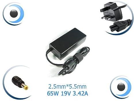 Visiodirect Adaptador cargador alimentación para ordenador portátil ASUS S46C: Amazon.es: Electrónica