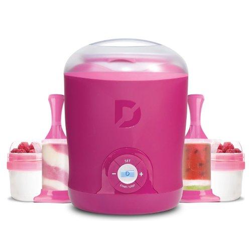dash greek yogurt maker pink - 3