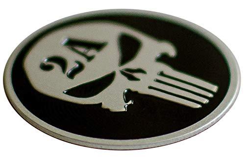 ALUMINUM 2nd Amendment Sticker Molon Labe Decal For Handgun, Pistol, Shotgun, Rifle | Support NRA | 1.25