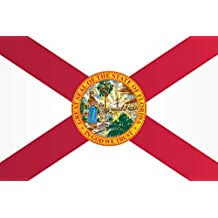 Florida State Flag Poster 12x18