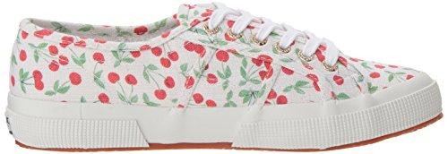 Cherry Sneaker Linenfruitw Women Pa Superga 2750 xASvqWB