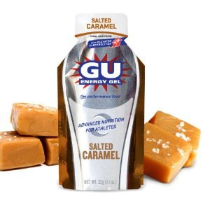 GU Energy Gel – Salted Caramel (6 x 1.1oz Packs)