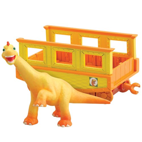 Dinosaur Train - Collectible Ned With Train - Train Car Collectible