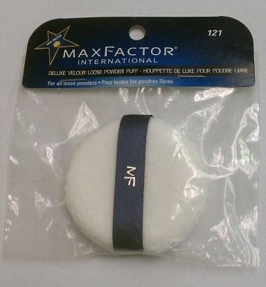 Max Factor International Deluxe Velour Powder Puff # 121