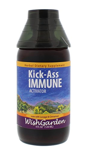 WishGarden Herbs – Kick-Ass Immune, Organic Herbal Immune Booster Promotes Healthy System Response & Resistance (4 (Promotes Immune System)