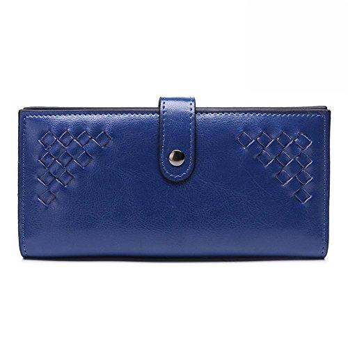 donna portafoglio Portafoglio blu per borsa con Axiba supporto dwdqEU8