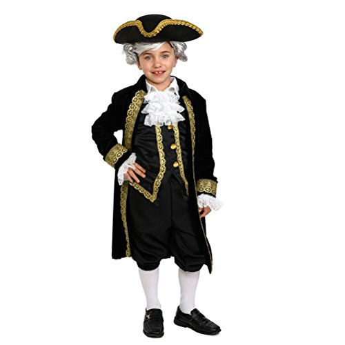 [Kids Historical Alexander Hamilton Costume] (Ladybug Costume Makeup)