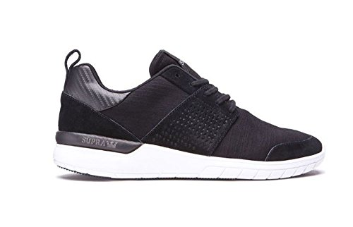 Supra Scissor Athletic Runner Shoes Black Charcoal Size Mens US 9.5