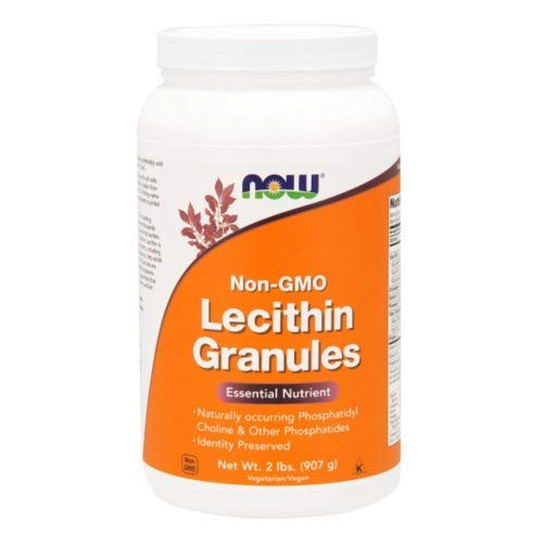 Lecithin, GRANULES NON-GMO, 2 Lb by Now Foods (Pack of 5)
