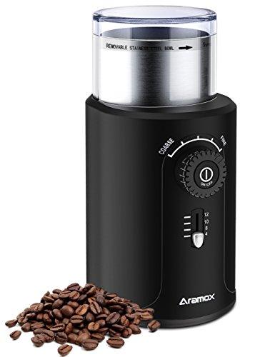 Coffee Grinder Stainless Steel Blade Grinds Coffee Beans