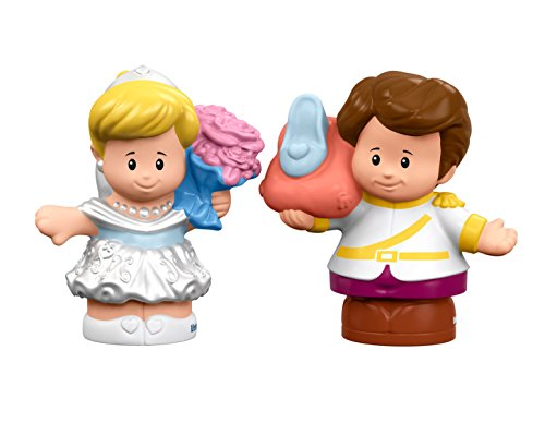 Fisher-Price Little People Disney Princess, Cinderella & Prince Charming (Little People Prince)