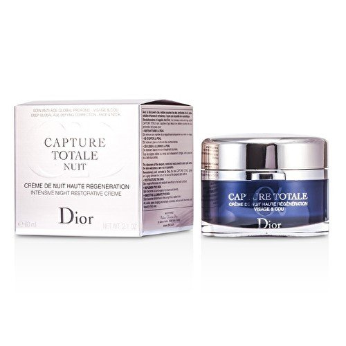 - Christian Dior Capture Totale Nuit Intensive Night Restorative Creme (Rechargeable) 60ml/2.1oz