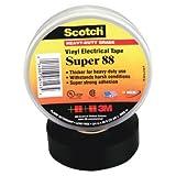 3M 10356 Scotch 88 Super Vinyl Electrical Tape, 2quot; x 36ft