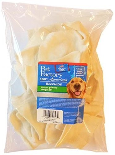 100% Made In Usa American Beefhide Chips Dog Chew by Pet Factory Inc