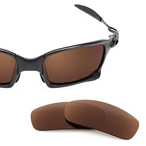 Squared Oscuro De Lentes Oakley Opciones — X Para Polarizados Repuesto Múltiples Marrón UXnnOvWB