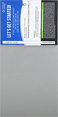 Mindtap Computing 1 Term 6 Months Printed Access Card For