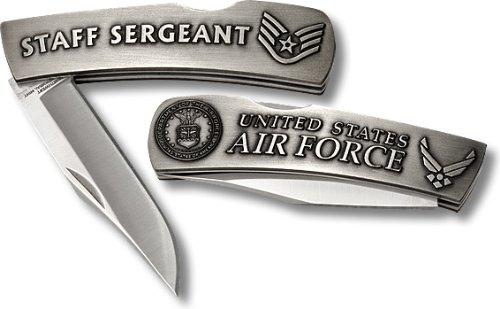 US Air Force Staff Sergeant Small Lockback - Air Force Lockback Knife