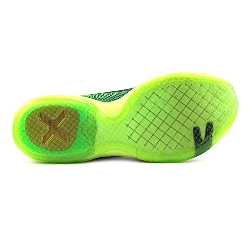 Nike Mens Kobe X Pallacanestro Scarpa Veleno Verde