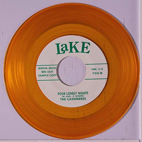 four lonely nights / let them talk 45 rpm single ()