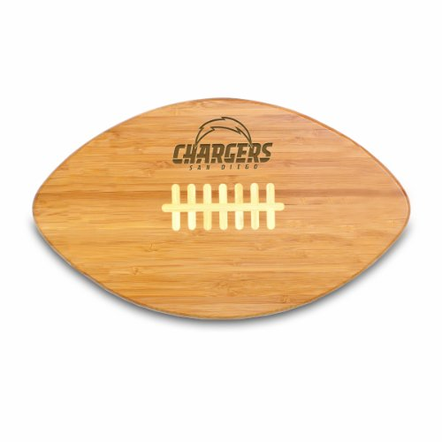 NFL San Diego Chargers Touchdown Pro! Bamboo Cutting Board, (San Diego Chargers Pro Shop)