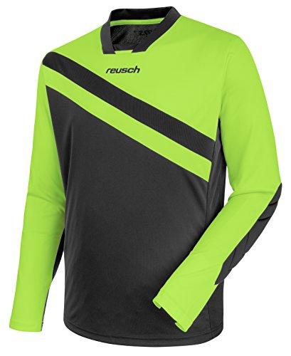 Reusch Goalkeeper Jersey (Reusch Soccer Reusch Golhero Goalkeeper Jersey Green Gecko/Grey, Adult Small)