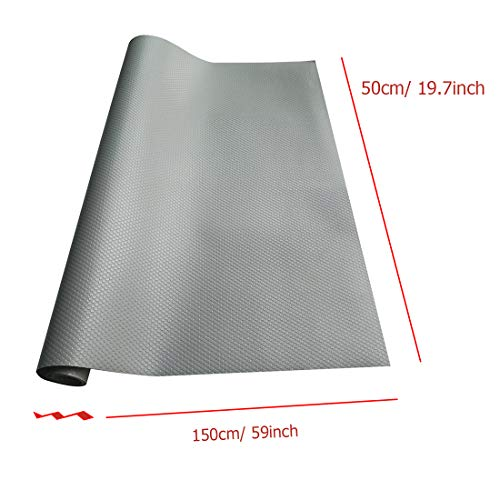 Polly Online Shelf Drawer Liner Refrigerator Pad EVA Non-Adhesive Cupboard Cabinet Mat Non-Slip Table Cover Mat (50x150cm) by Polly Online (Image #6)