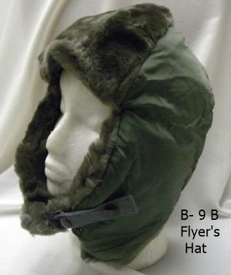 B-9B Winter Flyer's Hat Size Medium (7 1/8 to 7 1/4) Brand NEW (Propper Sage Green)