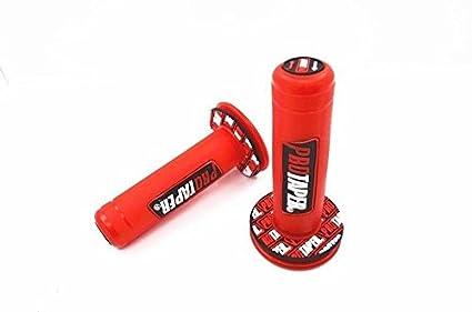 Universal 22mm 7//8 DIRT PIT BIKE GRIPS RED