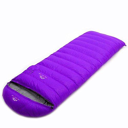 violet  TTYY Sac de couchage en duvet super léger camping en plein air portable voyage