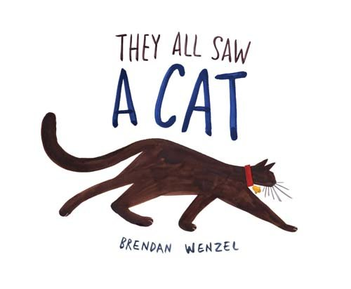 They All Saw a Cat by Chronicle Books (Image #2)