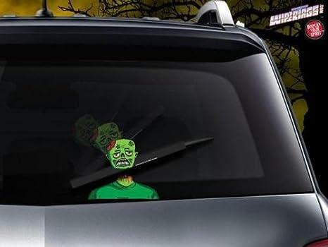 """Adorno con zombie para el limpiaparabrisas trasero """"Zed is dead"""" ..."""