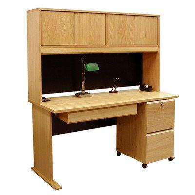 Rush Furniture Carolina Veneers Modulars Desk, 48-Inch