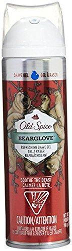 Old Spice Shave Gel Prep, 7 oz, Bearglove