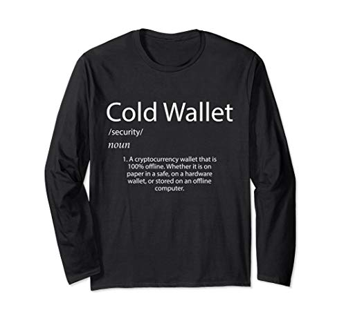 Cold Wallet Definition Bitcoin Crypto Currency Long Sleeve